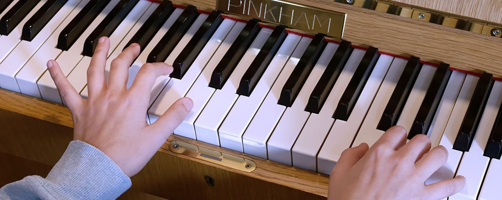 Freya piano hands