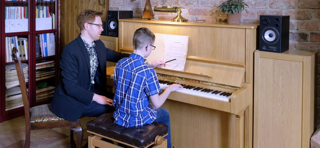 Jack piano lessons with teacher