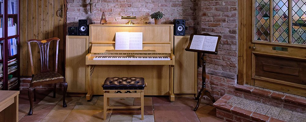 Jonathan Delbridge Music teaching room