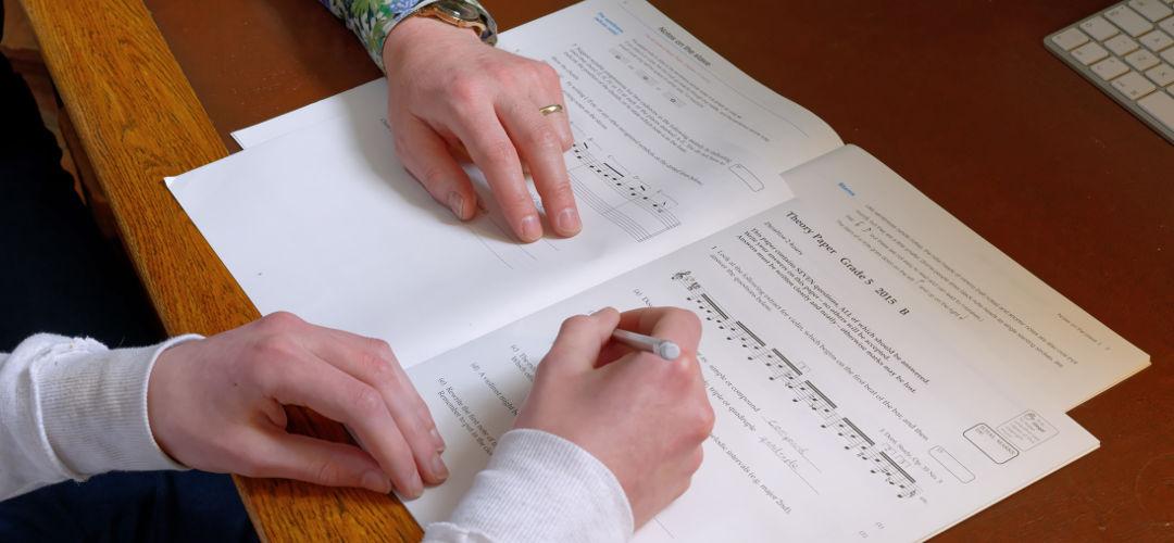 Sam music theory lesson